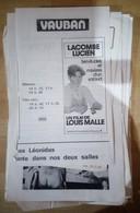 Beau Lot D'anciens Programmes De Cinémas De Charleroi - Programmes