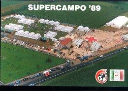 WD235 CROCE ROSSA ITALIANA ,125 ANIV. DELLA CROCE ROSSA E MEZZALUNA ROSSA , SUPERCAMPO 89 CASTIGLIONE DELLE STIVIERE SOL - Croce Rossa