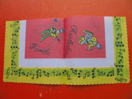 Paper Napkin.Music:Cha-Cha,Twist,Rumba,Charleston.Dances - Serviettes Publicitaires