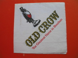 Paper Napkin.OLD CROW.The Greatest Name In Bourbon - Reclameservetten