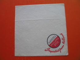 Paper Napkin.AMSTEL,HOLLAND BEER - Serviettes Publicitaires
