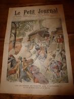 1908 LE PETIT JOURNAL: Incendie Dans La Région De Presquisle (USA); Dunes De La Panne ; Esquimaux Morts De Froid; Etc - Journaux - Quotidiens