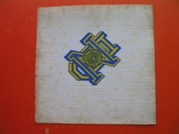 Paper Napkin.UNIVERSITY NOTRE DAME - Company Logo Napkins