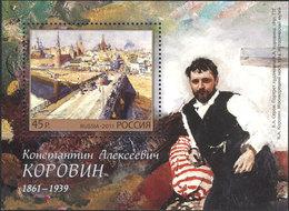 Russia. 2011 150th Birth Anniversary Of K.A. Korovin. - Neufs