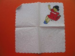 Paper Napkin.Hand Painting - Company Logo Napkins