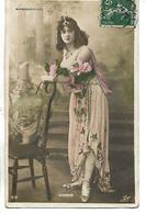 Carte 1908  / Artiste Femme Au Théâtre Des Ambassadeurs / AUGARDE - Artistes