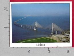 CARTOLINA VG PORTOGALLO - LISBOA - Vasco Da Gama Bridge - 11 X 16 - ANN. 1999 JOAO CID DOS SANTOS - Lisboa