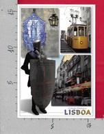 CARTOLINA VG PORTOGALLO - LISBOA - Cidade Historica - Vedutine Multivue - 11 X 16 - ANN. 1999 JOAO CID DOS SANTOS - Lisboa
