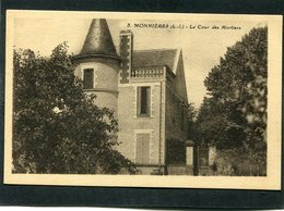 CPA - MONNIERES - La Cour Des Mortiers - Francia