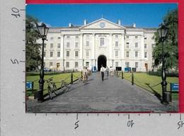 CARTOLINA VG IRLANDA EIRE - DUBLIN The Fair City - Trinity College University - 10 X 15 - ANN. 19?? - Dublin