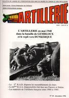 BULLETIN MUSEE ARTILLEURS ARTILLERIE MAI 1940  BATAILLE GEMBLOUX REPLI DUNKERQUE - 1939-45