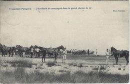 Brasschaet-Polygone.  -   L'Artillerie De Campagne Dans Le Grand Champ De Tir.  -   1907  Naar  Gand - Manoeuvres