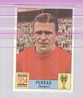 PUSKAS....PANINI MEXICO 1970...CALCIO ..MUNDIAL....SOCCER..WORLD CUP....FOOTBALL..FIFA - Trading Cards