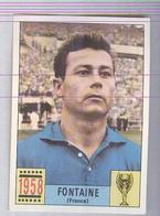 FONTAINE....PANINI MEXICO 1970...CALCIO ..MUNDIAL....SOCCER..WORLD CUP....FOOTBALL..FIFA - Trading Cards