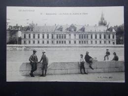 Carte Postale -  GRENOBLE (38) - Palais De Justice Et L'Isére - 1920 (2513) - Grenoble