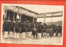 VAI-21 Carosello Storico Gli Artiglieri Di S. M. R. Vittorio Amadeo II. Viaggiata Da Torino Per Svizzera 1923 - Italia