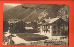 VAI-26 Gressoney-Saint-Jean Carte-Photo  Viaggiata Per La Svizzera In 1925 - Italie