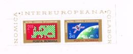 Coopération Européenne MNH,Neuf Sans Charnière,Falzlos.Yvert 2836/7 - 1948-.... Republics