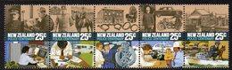 NEW ZEALAND, 1986 POLICE STRIP 5 MNH - New Zealand