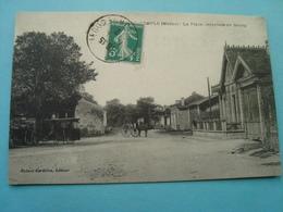 33 - Bordeaux - Le Temple - La Place Intérieure Du Bourg - 1912 - France
