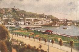 """ Torquay. Terrace Walk And Princess Gardens"" Tuck Oilette PC # 788 - Tuck, Raphael"