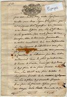 VP14.148 - Haute - Savoie -  ANNECY - VILLE LA GRAND - Acte De 1782 - Cession - Religieux - Manuscripts