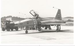 CP AVION NORTHROP F5-E  J-3021 13X9CM - 1946-....: Ere Moderne