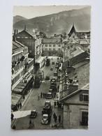 Annemasse, Rue De La Gare Et Vue Sur Le Salève - Annemasse