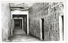 EGYPTE  THEBES TOMB OF KING RAMSES II  CARTE NON ECRITE - Pyramids