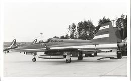 CP AVION NORTHROP F5-E K-3024 13X9CM - 1946-....: Ere Moderne