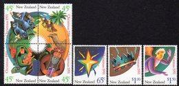 NEW ZEALAND, 1991 XMAS 7 MNH - New Zealand