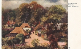 """ Cockington Village, Near Torquay"" Tuck Oilette PC # 788 - Tuck, Raphael"
