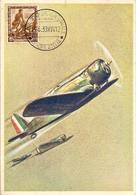 (C.IL).Mastroianni A.Mostra Aerofilatelica.Roma 1939.Squadriglia Caccia Fiat G 50 (59-17) - Mastroianni