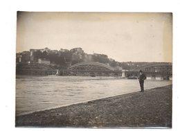 Lyon. Le Pont De La Boucle. Photo Originale 1903. - Sonstige