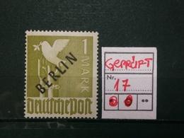 Berlin Gemeinschaftausgabe Nr.17 ** Geprüft MNH - Berlin (West)