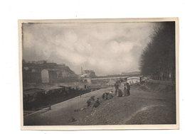 Lyon. La Saone Au Quai Rambaud,la Batellerie. Photo Originale 1906. - Sonstige