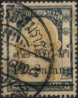 Stamp Thailand 1909 12s On 8a  Used Lot#122 - Thaïlande