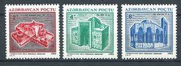 242 AZERBAIDJAN 1994 - Yvert 116/18 - Monument Historique De Bakou - Neuf ** (MNH) Sans Trace De Charniere - Azerbaïdjan