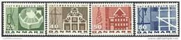 DENEMARKEN 1967 800 Jaar Kopenhagen Fluorescerend Papier PF-MNH-NEUF - Danemark