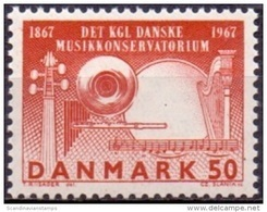 DENEMARKEN 1967 Muziekacademie Fluorescerend PF-MNH - Danemark