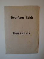 Deutsches Reich Kennkarte, Delmenhorst 23. Oktober 1945 - Dokumente