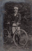 Louis Leclère Préposé Aux Accises & Douanes Courrier Vers Sa Famille à Bertrix En 1908  Douanier à Vélo - Customs