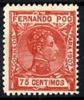 Fernando Poo Nº 161 En Nuevo Sin Charnela - Fernando Po