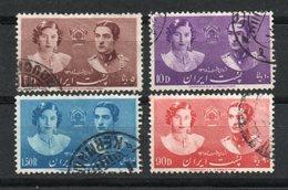 Irán. 1939. Imperio. Boda Del Príncipe Mohamed Riza Y La Princesa Fawzieh. - Irán