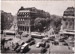Paris: CHEVROLET FLEETLINE, CITROËN ROSALIE, RENAULT NERVASTELLA, GOELETTE R2066 SURELEVÉE, 4CV, SIMCA 8-1200 CABRIOLET - Toerisme