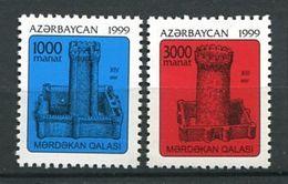 242 AZERBAIDJAN 1999 - Yvert 388/89 - Tour Monument - Neuf ** (MNH) Sans Trace De Charniere - Azerbaïdjan