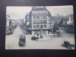 Carte Postale -  GRENOBLE (38) - Avenues De La Gare Et Alsace Lorraine - (2528) - Grenoble