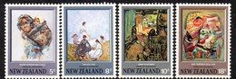 NEW ZEALAND, 1973 PAINTINGS 4 MNH - New Zealand