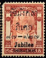 Stamp Thailand 1908   Mint Lot#144 - Thailand