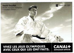Judo / David Douillet / Athènes 2004 /  Canal + - Martiaux